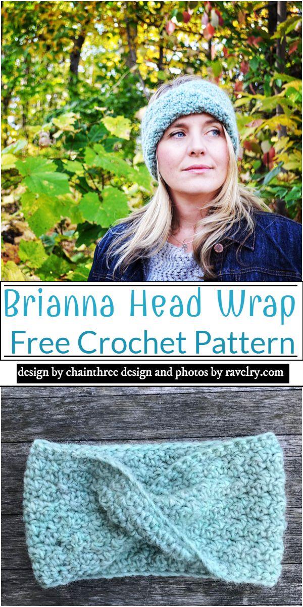 Brianna Head Wrap Crochet Pattern