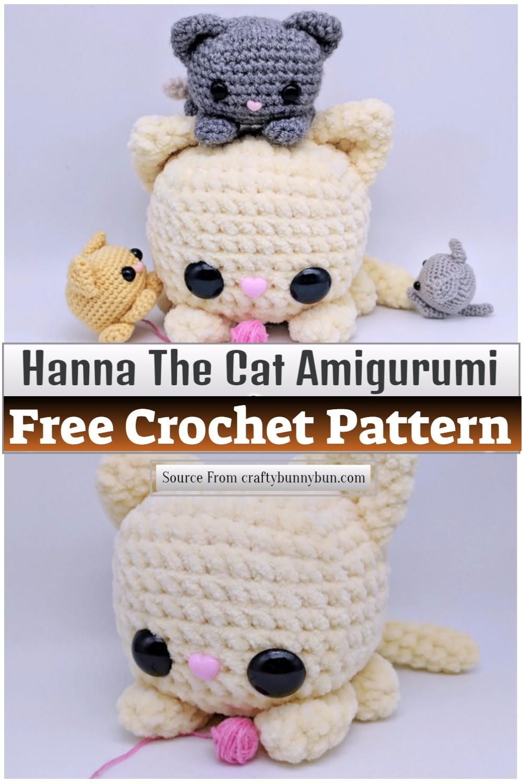 Cube Kitty Cat Amigurumi Pattern 1