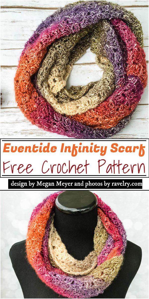 Eventide Infinity Scarf Crochet Pattern