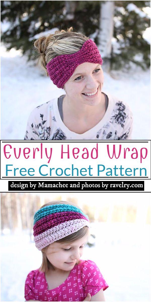 Everly Head Wrap Crochet Pattern