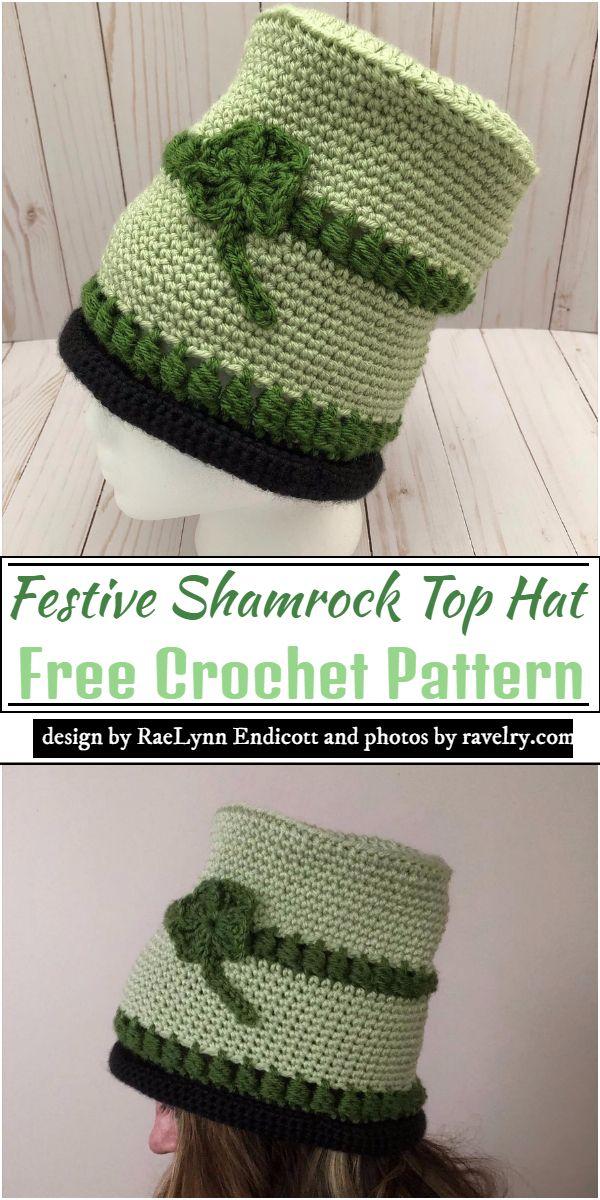 https://www.ravelry.com/patterns/library/fun--festive-shamrock-top-hat