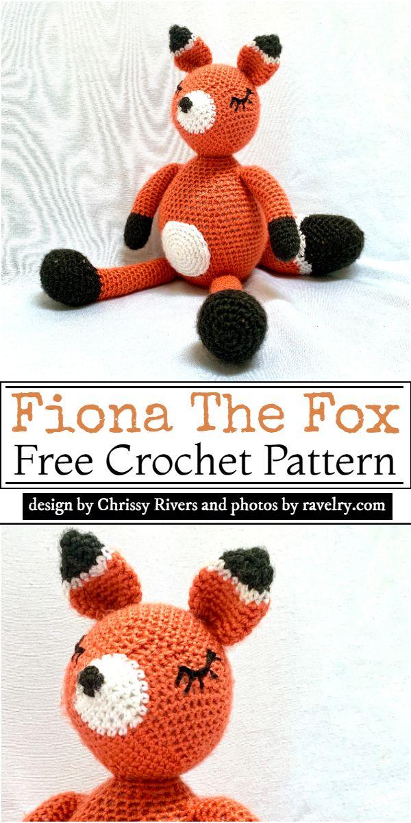 Fiona The Fox Crochet Pattern