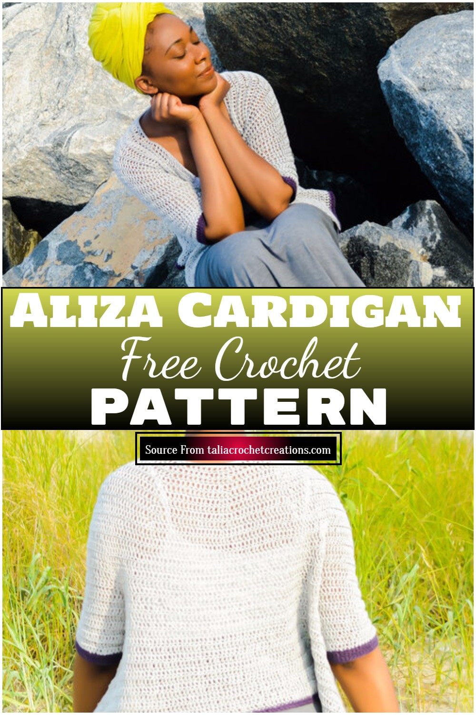 Free Crochet Aliza Cardigan Pattern