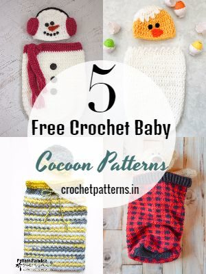 Free Crochet Baby Cocoon Patterns