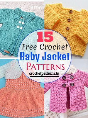 Free Crochet Baby Jacket Patterns