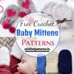 15 Cozy And Stylish Free Crochet Baby Mitten Patterns