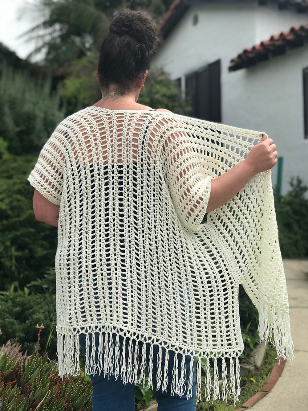 Free Crochet Boho Summer Cardigan Pattern