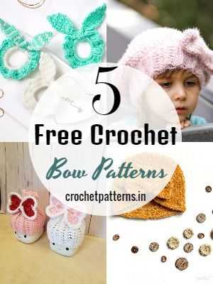 Free Crochet Bow Patterns