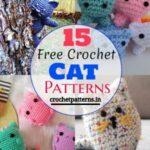 15 Free Crochet Cat Patterns For Kids Fun