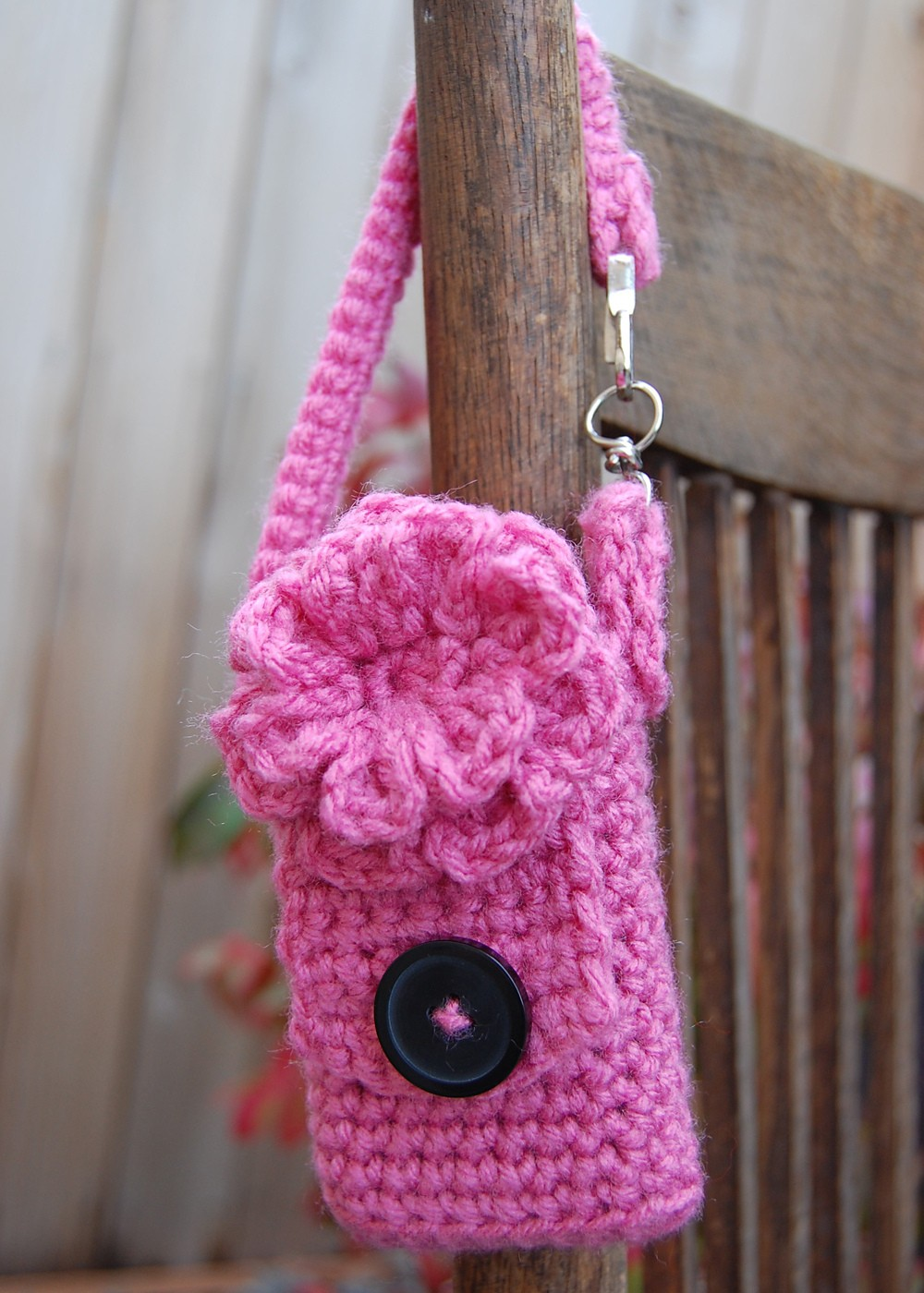 Free Crochet Cell Phone Case