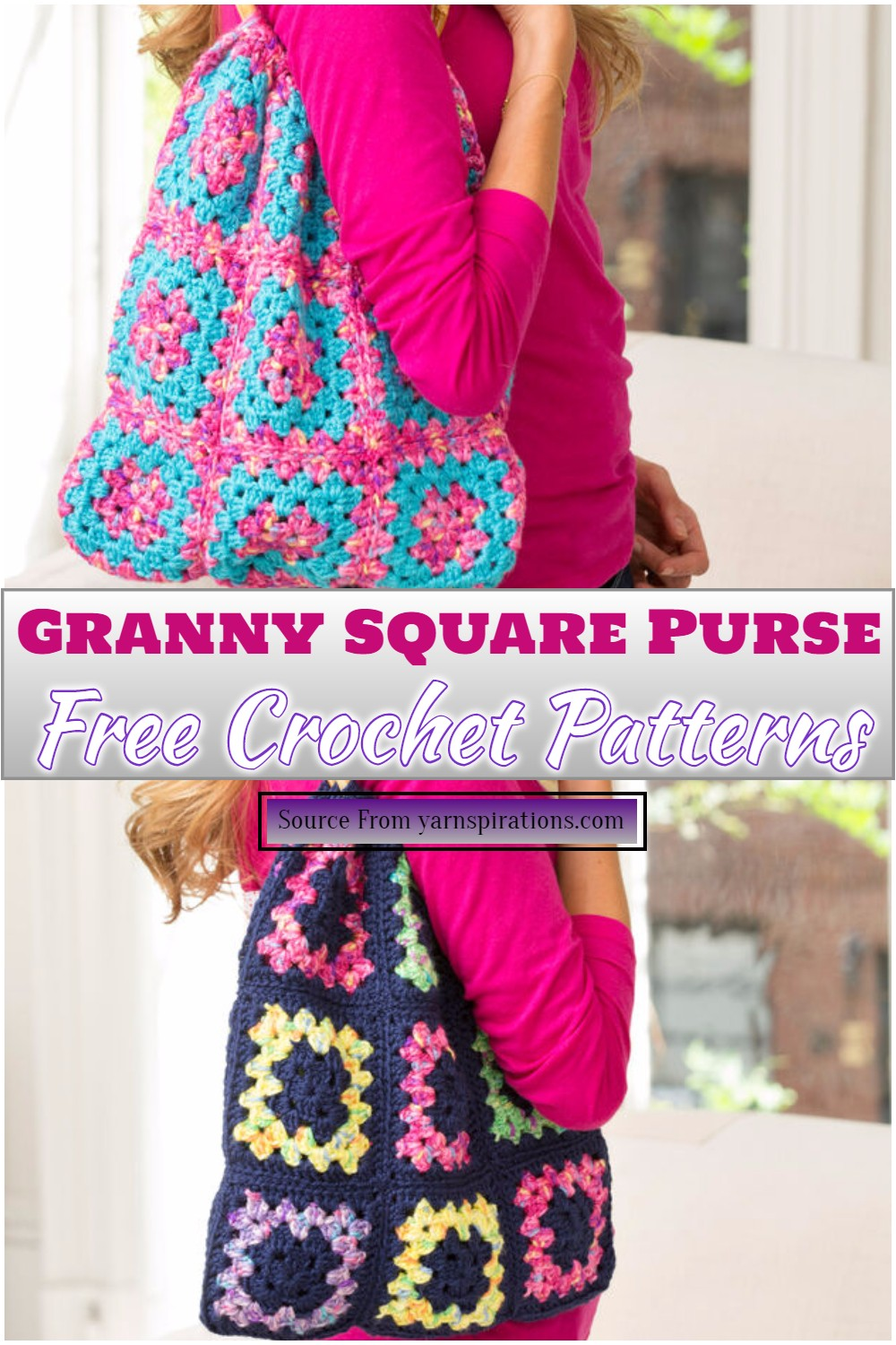 Free Granny Square pattern for women