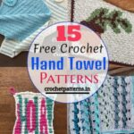 15 Free Crochet Hand Towel Patterns
