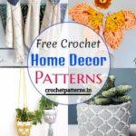 15 Free Crochet Home Decor Patterns