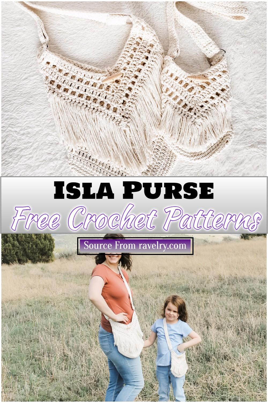 Free Crochet Isla Purse