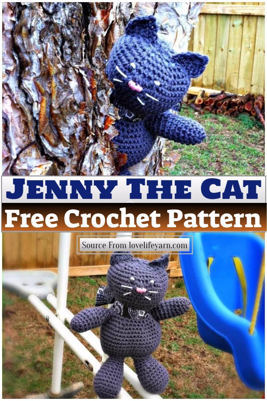 Free Crochet Jenny The Cat Pattern 1