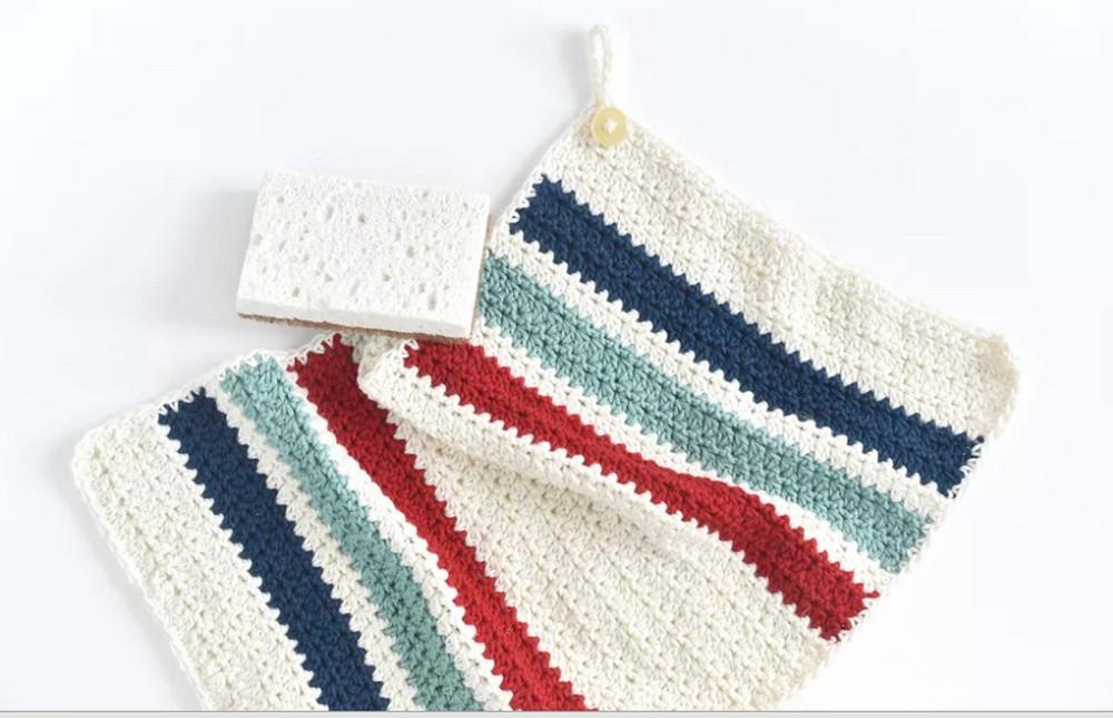 Free Crochet Kitchen Towel