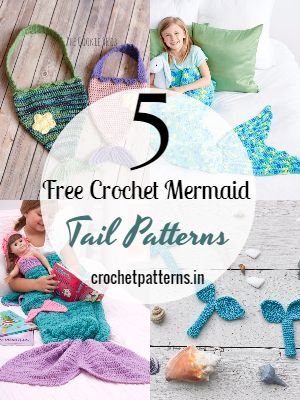 Free Crochet Mermaid Tail Patterns