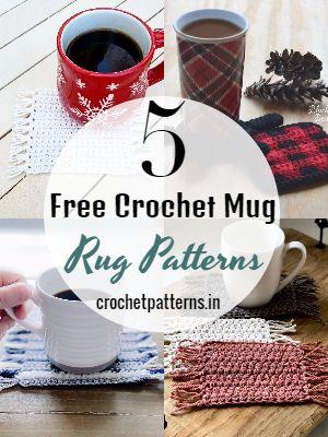 Free Crochet Mug Rug Patterns