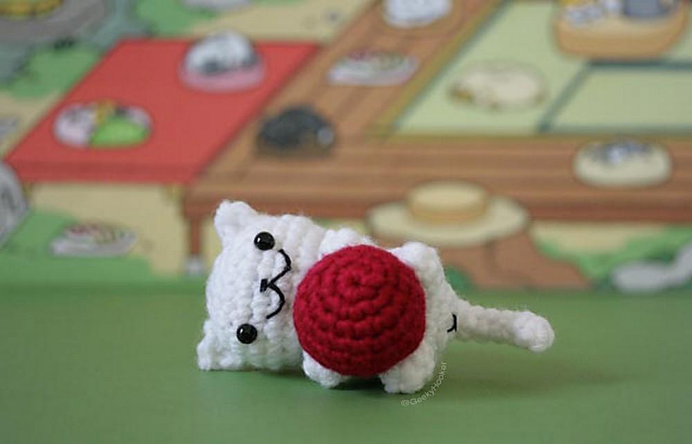Free Crochet Neko Atsume Cat