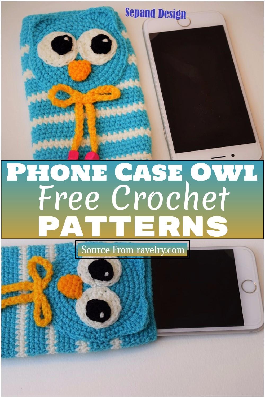 Free Crochet Phone Case Owl