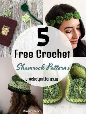 Free Crochet Shamrock Patterns