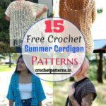 Free Crochet Summer Cardigan Patterns