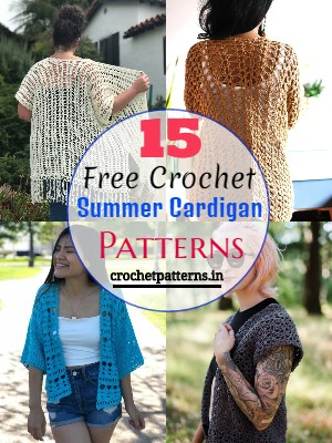 Free Crochet Summer Cardigan Patterns