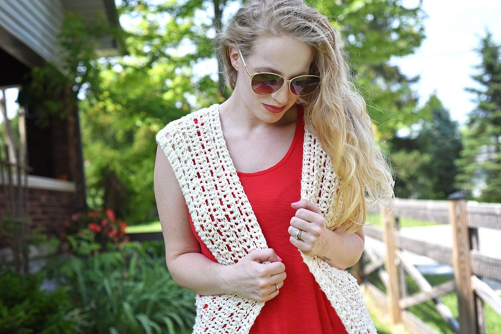Free Crochet Summer Daze Cardigan Pattern