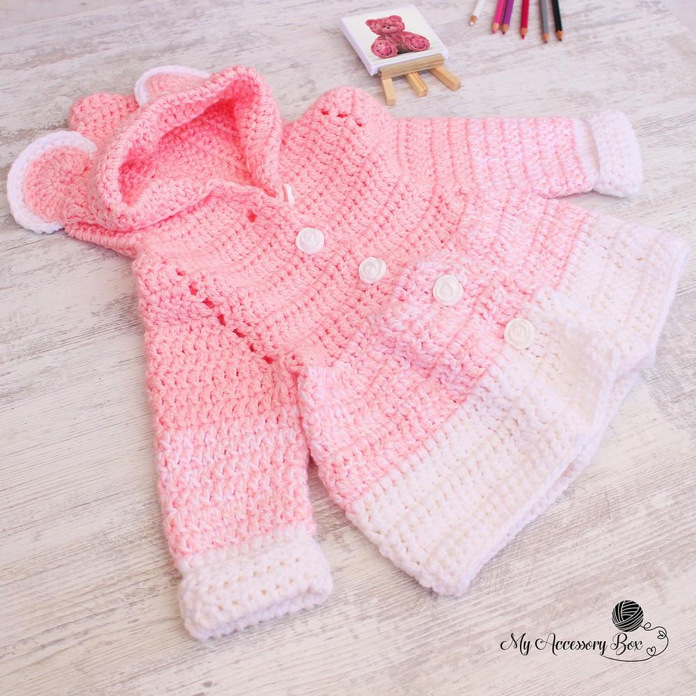 Free Crochet Teddy Bear Jacket Pattern