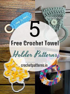 Free Crochet Towel Holder Patterns
