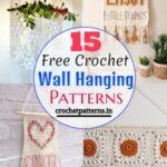 15 Free Crochet Wall Hanging Patterns