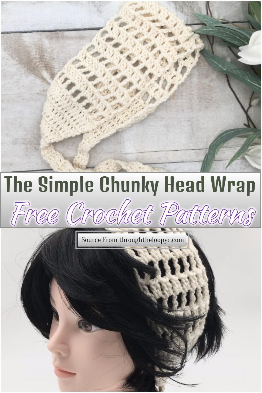 Free Crochet Whimsy Head Wrap
