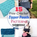 15 Free Crochet Zipper Pouch Patterns