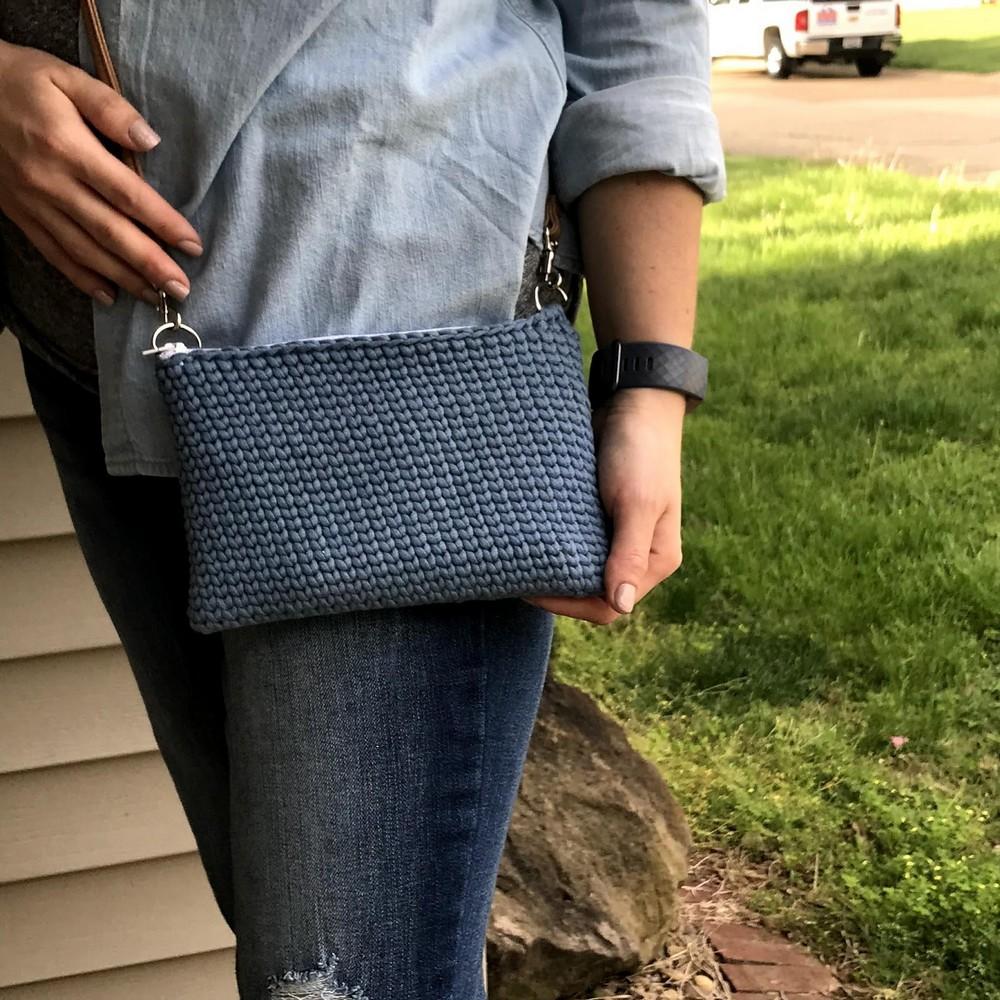 Free Crochet Zipper Pouch Purse