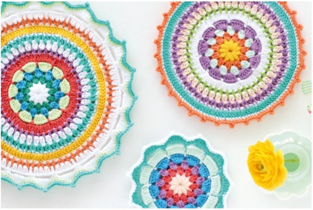 Free Mindful Mandala Crochet Patterns