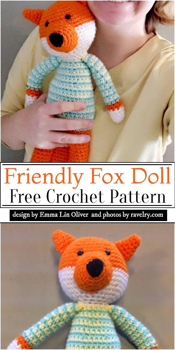 Friendly Doll Pattern