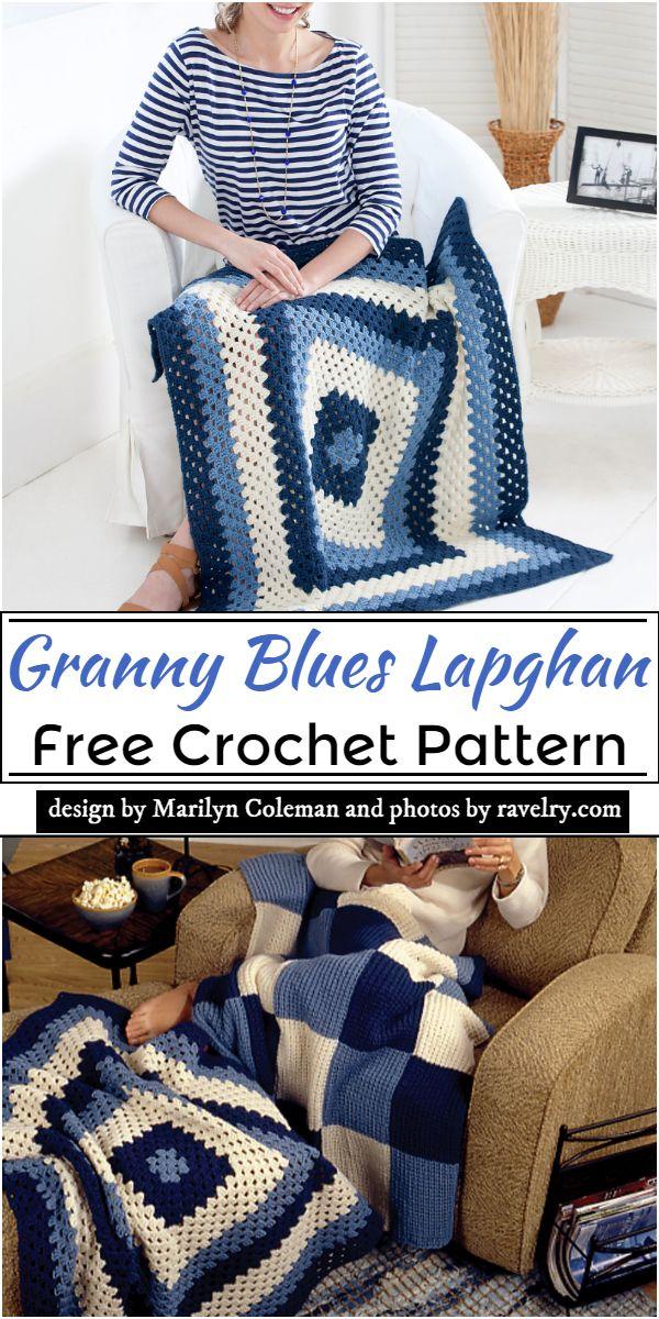 Granny Blues Pattern