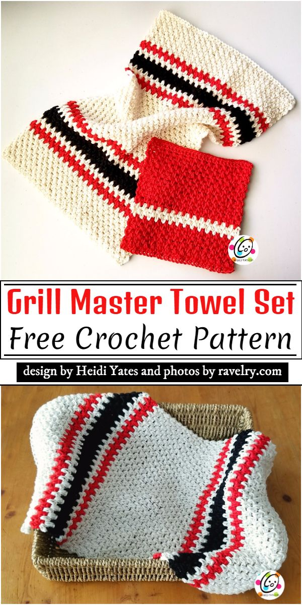 Grill Master Crochet Pattern