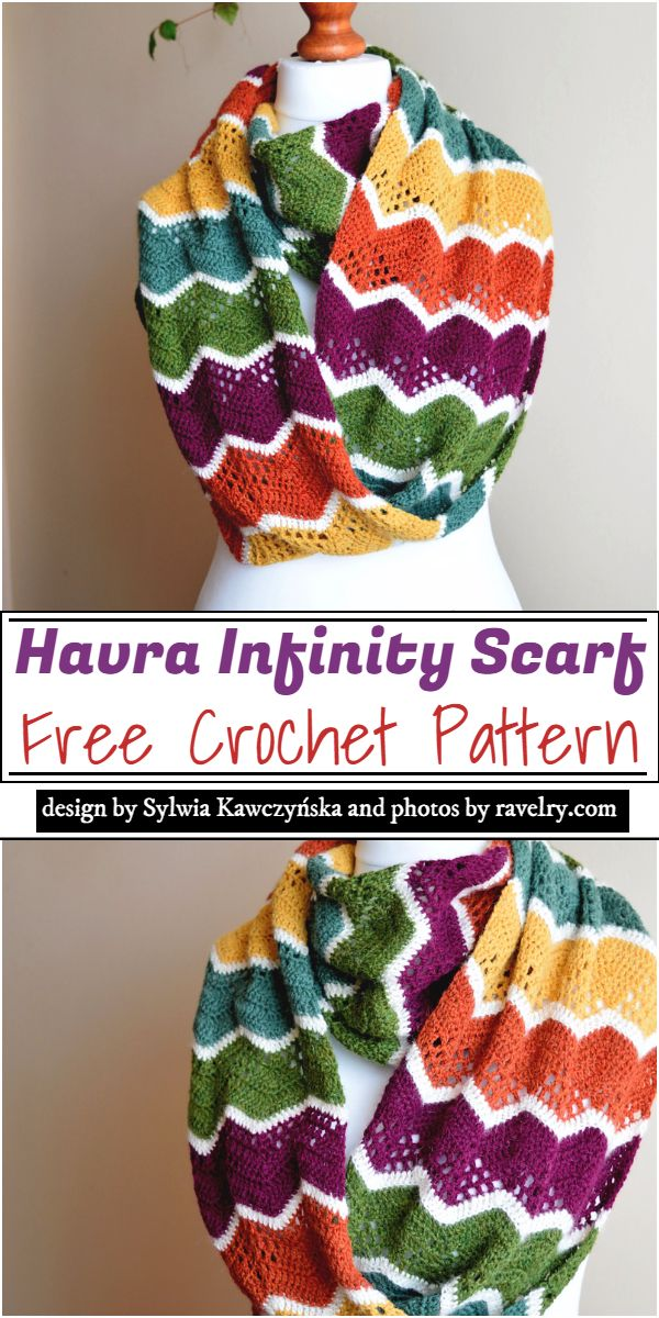 Havra Infinity Scarf Crochet Pattern