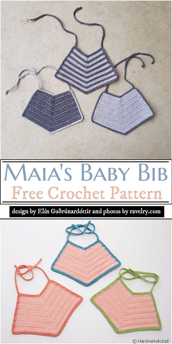 Maia's Baby Bib Crochet Pattern