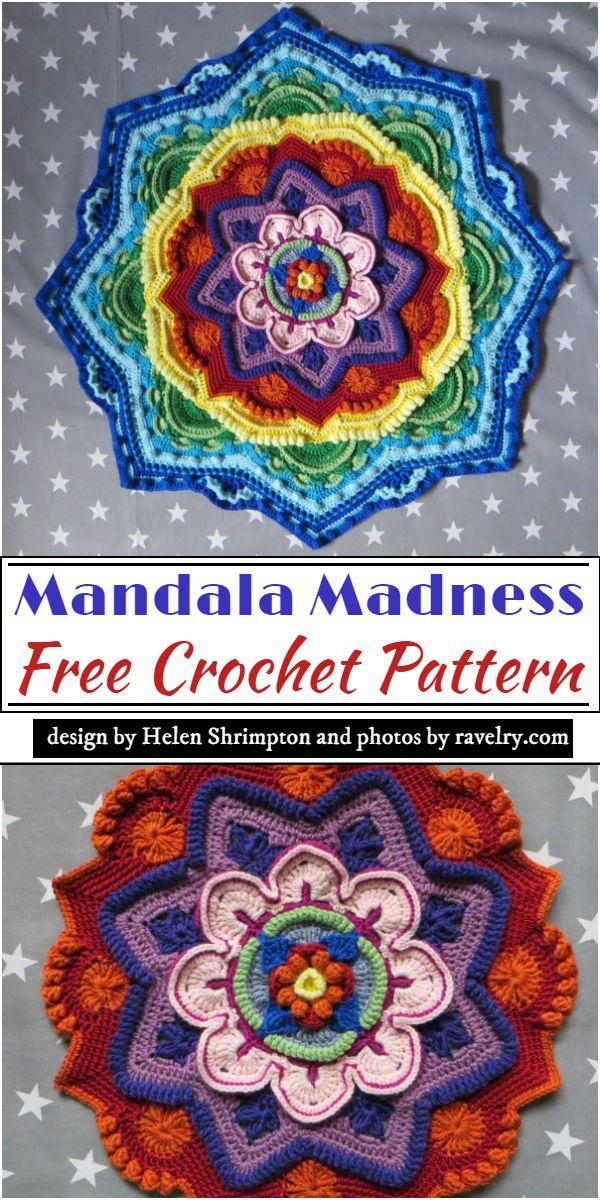 Mandala Madness Crochet Pattern