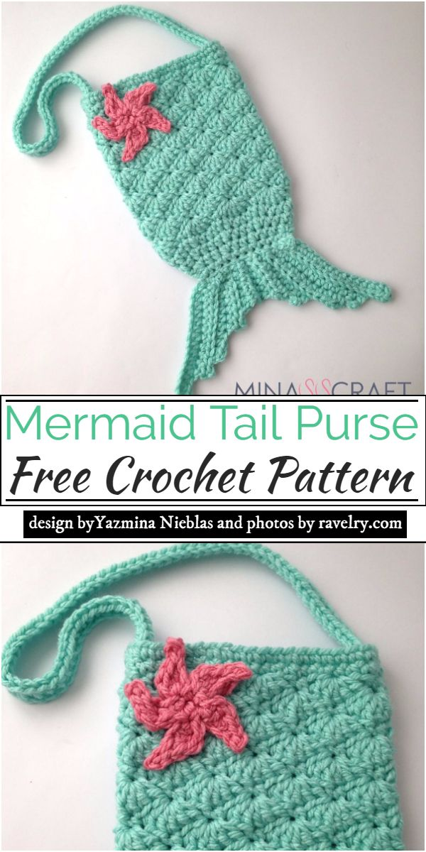 Mermaid Tail Pattern for your bag's alternative