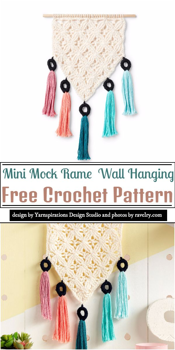 Mini Mock Rame Crochet Pattern