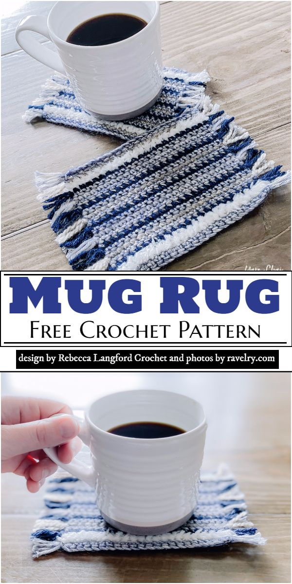 Mug Rug Crochet Pattern