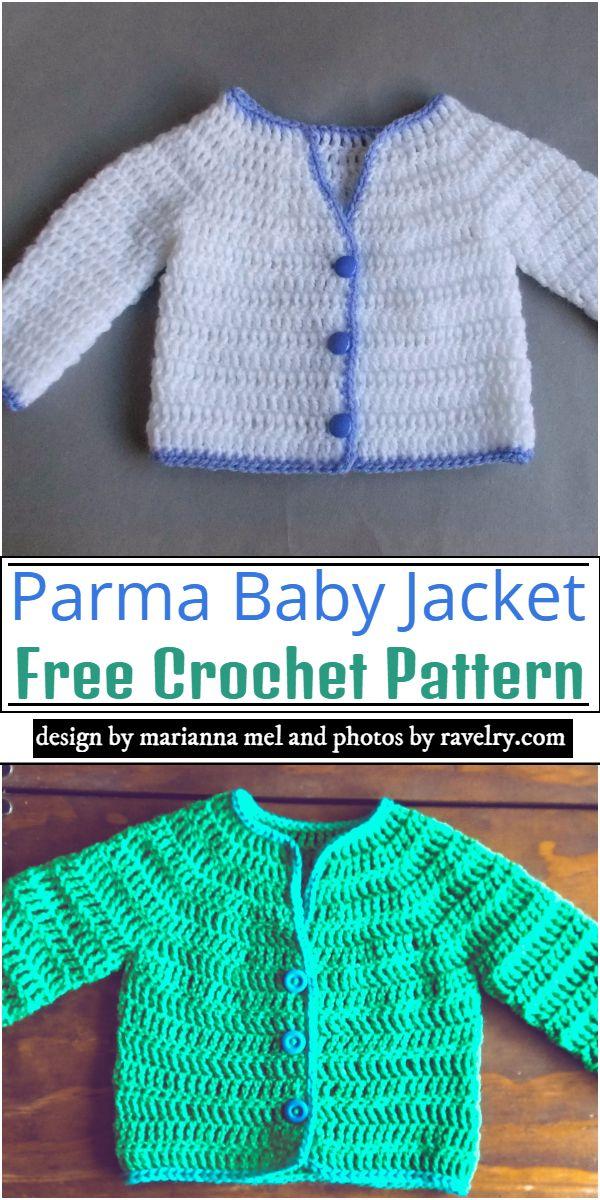 Parma Baby Jacket Crochet Pattern
