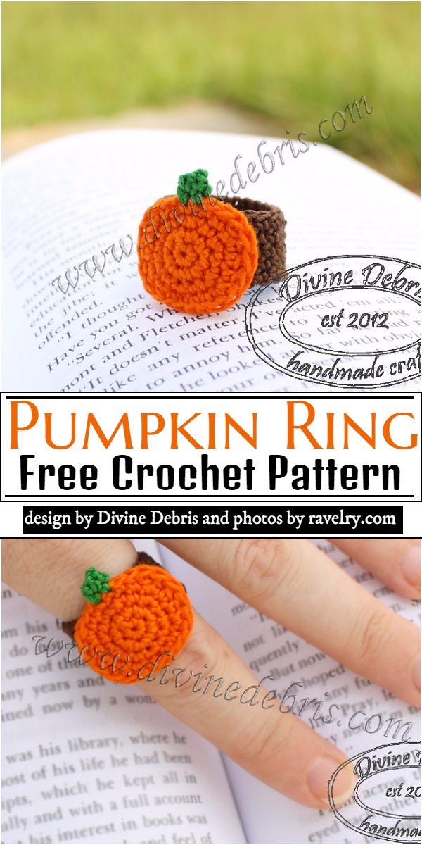 Pumpkin Ring Crochet Pattern