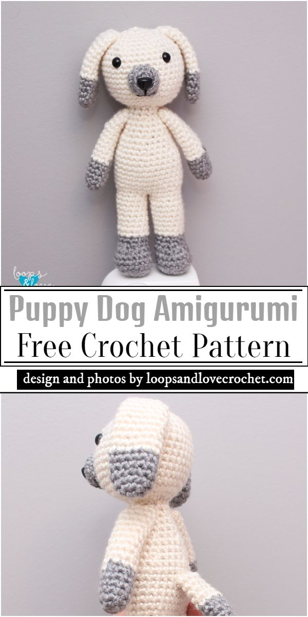 Puppy Amigurumi Pattern