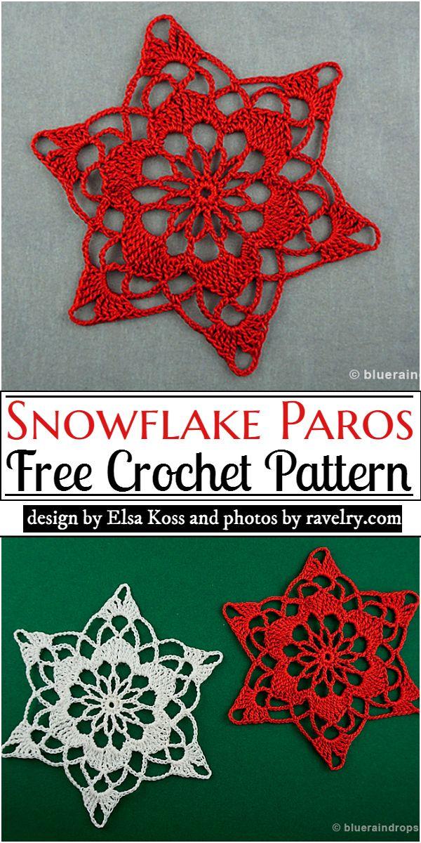 Snowflake Paros Crochet Pattern