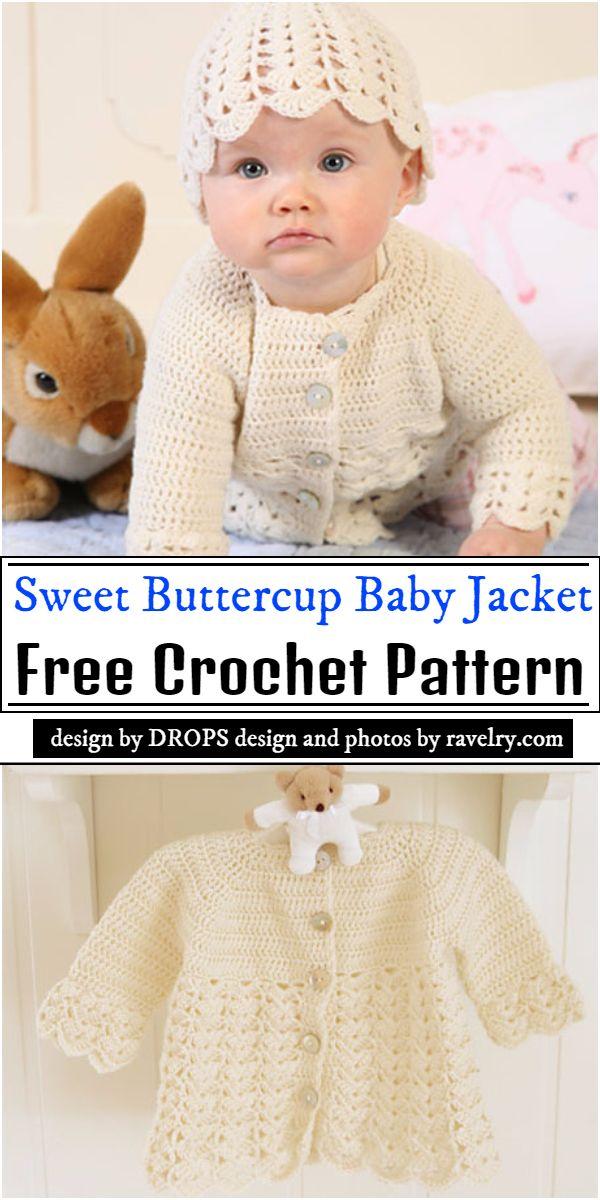 Sweet Buttercup Baby Crochet Pattern