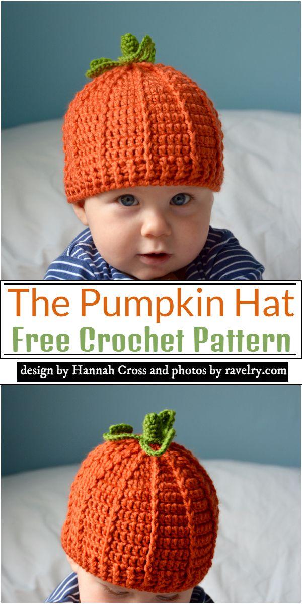 The Pumpkin Hat Crochet Pattern